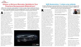 Gillette ve McLaren Mercedes, İşbirliklerini Yeni Pazarlama