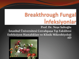 Breakthrough İnfeksiyonlar