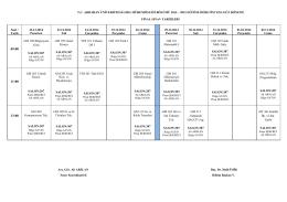çevre mühendisliği bölümü 2009