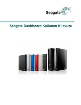Seagate Dashboard Kullanım Kılavuzu