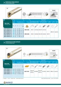 tsistem delik torna katerleri t-system borıng bars s25s ckunr/l