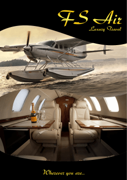 Katalog - FS Air l Luxury Travel