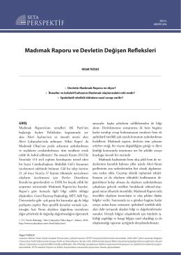 Madımak Raporu ve Devletin Değişen Refleksleri [PDF]