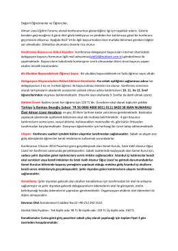 Türkiye İş Bankası Beyoğlu Şubesi TR 56 0006 4000 0011 0111