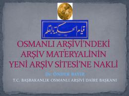 Doç.Dr.Önder BAYIR