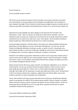 Dersim Kerbala´dır, Dersim İnsanlıǧın Kanayan Yarasıdır! AKP