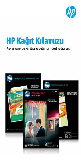 Inkjet Yazıcılar için HP Fotoğraf Kağıdı