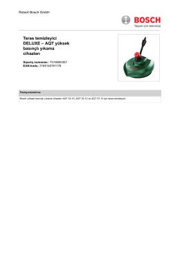 Teras temizleyici DELUXE – AQT yüksek basınçlı yıkama cihazları