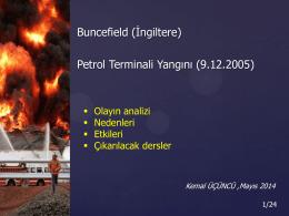 Buncefield Yangını
