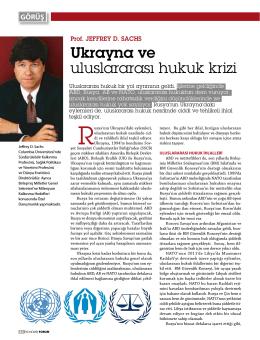 Ukrayna ve uluslararası hukuk krizi