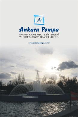 e-katalog - Ankara Havuz Fıskiye Sistemleri ve Pompa Sanayi