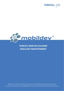 turkcell m2m hat kullanım koșulları taahhütnamesi