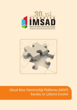 Ulusal Bina Yönetmeliği Platformu (UBYP) Kuruluş ve