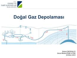 Selami İncedalcı - Türkiye Uluslararası Yeraltı Doğal Gaz Depolama