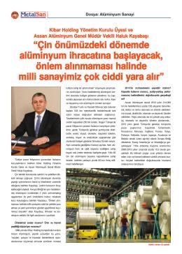 MetalSan Dergisi Şubat 2014