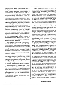 Meclisi Mebusan İ :37 30 Kânunusâni 1332 (1916) C : 1 yekûn