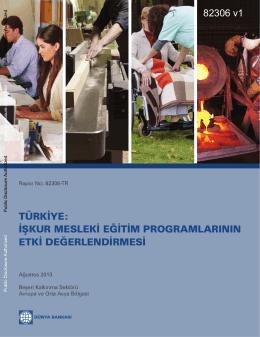 türkiye: işkur mesleki eğitim programlarının etki