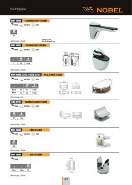 Daha fazlası için Raf Etejerleri PDF