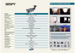 sp 3086y teknik broşür