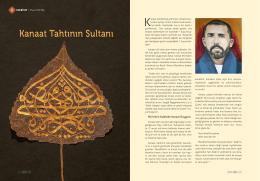 Kanaat Tahtının Sultanı