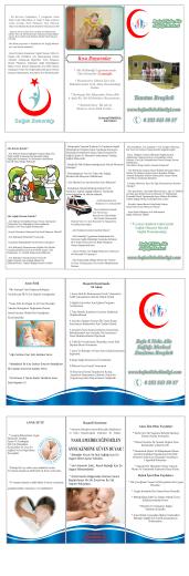 Broşürlerimiz - Bafa Aile Hekimliği