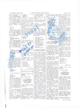 SAN-EL 09.07.2014 Ticaret Sicil Gazetesi - SAN