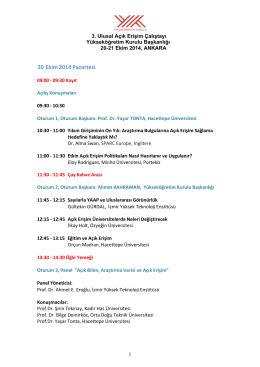 AE2014 Program