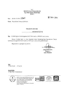 ,O 7 TE:M 2014 - mersin - mezitli ilçe millî eğitim müdürlüğü