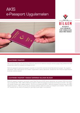 AKİS Pasaport - Akıllı Kart İşletim Sistemi