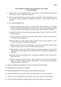 TŞ EK-1 _altyapı işleri