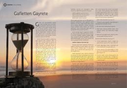 Gafletten Gayrete