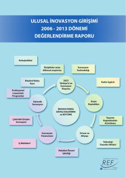 Ulusal İnovasyon Girişimi 2006-2013 Değerlendirme Raporu