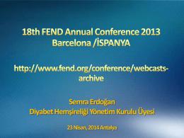 FEND 2014 Teması,Semra Erdoğan