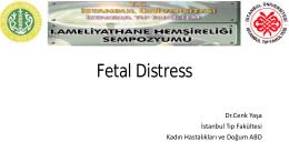 Fetal Distress - Dr. Cenk Yaşa