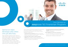 easylease %0 Finansman Programı