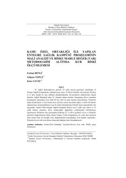PDF İndir - Sosyal ve Ekonomik Araştırmalar Dergisi