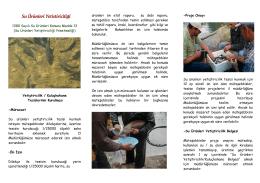 Su Ürünleri Yetiştiriciliği