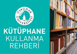 Kütüphane Kullanma Rehberi