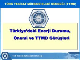 Bahri Türkmen, Türk Tesisat Mühendisleri Derneği