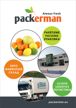 DEPO WAREHOUSE СКЛАД PAKETLEME PACKING