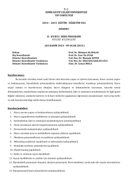 Kurul-II - Tıp Fakültesi