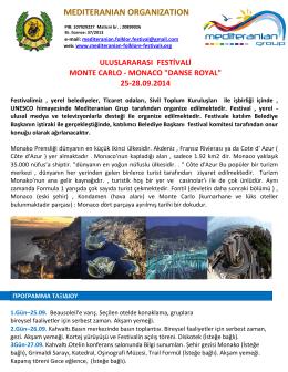 Monte Carlo - Monako - Mediteranian organization