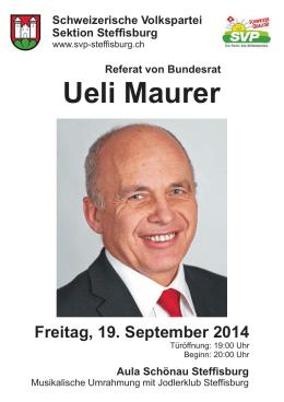 BR Ueli Maurer.CDR - SVP Buchholterberg
