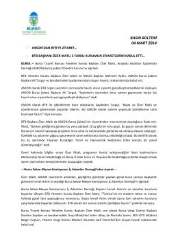 04.03.2014 Askon- Vergi Dairesi ve Sebze-Meyve