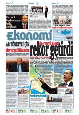 14 şubat 2014 - Ekonomi Gazetesi