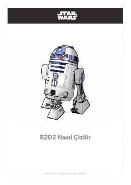 R2D2 Nasıl Çizilir
