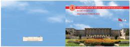 TBMM Başkanlığı İdari Teşkilatı 2013 Yılı Eylem Planı
