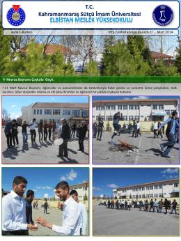 Slayt 1 - Kahramanmaraş Sütçü İmam Üniversitesi
