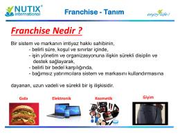 Nutix Francihse Sistemi