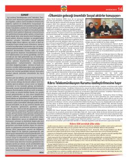 kıbrıs pansendikal forumu daimi komitesi yeniden faaliyete geçti